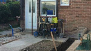 Groundwork at MillView Builders in Dover